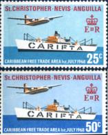 Ref. 246043 * NEW *  - ST.CHRISTOPHER-NEVIS-ANGUILLA . 1968. FREE EXCHANGE IN THE CARIBBEAN. LIBRE CAMBIO EN EL CARIRE - St.Christopher-Nevis-Anguilla (...-1980)