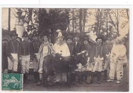 Meurthe-et-Moselle - Cavalcade De Lunéville, 4 Avril 1914 - Char Nid De Pierrot - Luneville