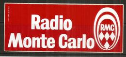 RADIO MONTE-CARLO STICKER 1981. - Pubblicitari