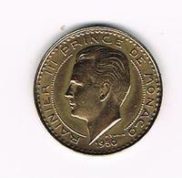 &   MONACO  10 FRANCS  RAINIER III   1950 - 1949-1956 Anciens Francs