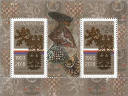 Tsjechië / Czech Republic - Postfris/MNH - Sheet 25 Jaar Tsjechische Republiek 2018 - Tsjechië
