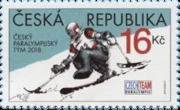 Tsjechië / Czech Republic - Postfris/MNH - Paralympische Spelen 2018 - Tsjechië