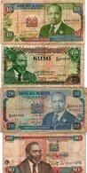 LOTTO KENIA 10,20,50 SHILINGI - Kenia