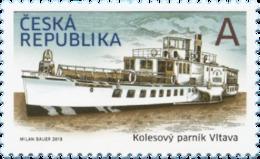 Tsjechië / Czech Republic - Postfris/MNH - Paddle Steamer Vltava 2018 - Tsjechië