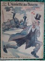 """Revue * L'ASSIETTE AU BEURRE * N°381-18/7/1908 """" Le RACHAT DE L'OUEST """" < Illustrateur RADIGUET - Livres, BD, Revues"""