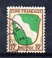Bade Occidentale Française / N 5 / 1 Pf Brun / Oblitéré - Zone Française