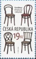 Tsjechië / Czech Republic - Postfris/MNH - Stoelen 2018 - Tsjechië