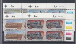RSA (KA) Michel Cat.No. Mnh/** 630/633 Control Bloc - Afrique Du Sud (1961-...)