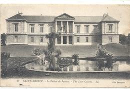SAINT-BRIEUC . LE PALAIS DE JUSTICE  . ECRITE AU VERSO - Saint-Brieuc
