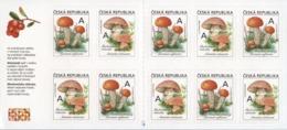 Tsjechië / Czech Republic - Postfris/MNH - Booklet Eetbare Paddenstoelen 2018 - Tsjechië