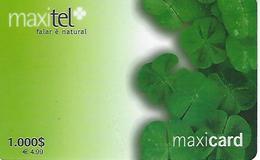 Maxitel 1000 Prepaid Phonecard - Portugal - Portugal
