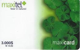 Maxitel 3000 Prepaid Phonecard - Portugal - Portugal