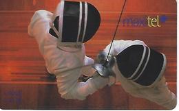 Maxitel Thematical (Fencing) Prepaid Phonecard - Portugal - Portugal