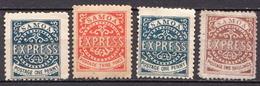 Samoa 4 MNH / No Gum Stamps, Probably Reprints - Samoa
