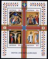 Litauen, 2000, 740/44 Block 20, 2000 Jahre Christentum. MNH ** - Lituania