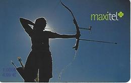 Maxitel Thematical (Bow And Arrow) Prepaid Phonecard - Portugal - Portugal