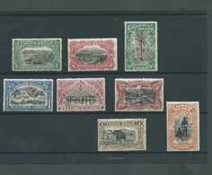 Bilingues COB N°64/71 XX MNH Côte 80.00€ - Belgisch-Kongo