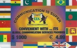 ITS 1000 Prepaid Phonecard - Portugal - Portugal