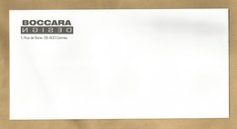 Cannes (06) Boccara Design 1 Rue De Bone (enveloppe) 2 Scans - Marcophilie (Lettres)