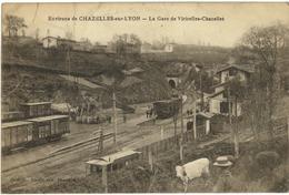 42 - Chazelles Sur Lyon - La Gare De Viricelles Chazelles - Autres Communes
