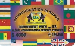 ITS 4000 Prepaid Phonecard - Portugal - Portugal
