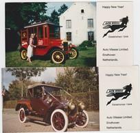 AUTO-EINDHOVEN-AUTO-VITESSE LIMITED-NETHERLANDS-ARNOLD VAN OS-2 VRAIE PHOTOS-COULEURS-VOYEZ LES 2 SCANS-TOP ! ! ! ! - Automobiles