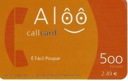 Alôô 500 Prepaid Phonecard - Portugal - Portugal