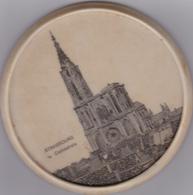 """STRASBOURG La Cathédrale """"dessous De Bouteille"""" Amis D'Alsace N° 006229 Comité Interpro Colmar - Autres Collections"""