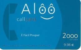 Alôô 2000 Prepaid Phonecard - Portugal - Portugal