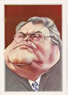 MORCHOISNE  RICORD   Ed Dervish N°9 - Politique Caricature Pierre Mauroy  Lille  - CPM  11,5x16,5 BE Neuve - Illustrators & Photographers