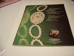 ANCIENNE PUBLICITE  UNE  MONTRE VACHERON ET CONSTANTIN 1979 - Bijoux & Horlogerie