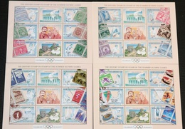Kyrgyzstan 28.02.2002 Mi # Bl 31-34 2004 Athens & 2008 Beijing Summer Olympics, Olympic Philately MNH OG - Verano 2004: Atenas
