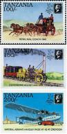 Ref. 365249 * NEW *  - TANZANIA . 1991. STAMP WORLD LONDON 90. INTERNATIONAL PHILATELIC EXHIBITION. STAMP WORLD LONDON 9 - Tanzania (1964-...)