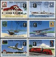 Ref. 6328 * NEW *  - TANZANIA . 1991. STAMP WORLD LONDON 90. INTERNATIONAL PHILATELIC EXHIBITION. STAMP WORLD LONDON 90. - Tanzania (1964-...)