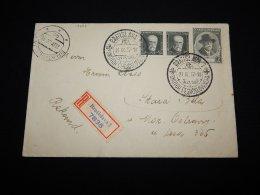 Czechoslovakia 1937 Bratislava Registered Cover__(L-19687) - Cecoslovacchia
