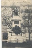 PARIS . STATUE D'ALEXANDRE DUMAS PERE . ECRITE AU VERSO - Autres Monuments, édifices
