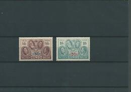 Pour Le Monument Du Roi Albert  COB N°192/193 XX MNH Côte 25.00€ - 1923-44: Neufs