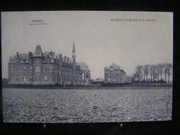 AP 4 - 288- Belgique  - Hannut - Chaussée De Namur Et Le Couvent - Pas Circulé - Hannuit