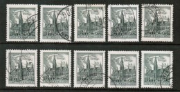 AUSTRIA  Scott # 688 USED WHOLESALE LOT OF 10 (WH-120) - Timbres