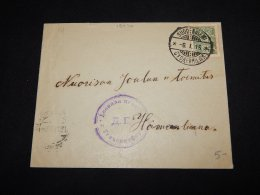 Finland 1916 Suodenniemi Censored Cover__(L-19070) - 1856-1917 Russian Government
