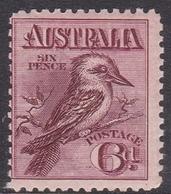 Australia ASC 126 1914 Kookaburra 6d Claret, Mint Never Hinged - 1913-36 George V : Other Issues