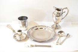 Elements Service De Table En Métal Argenté Ou Métal Blanc. Art De La Table - Vaisselle, Verres & Couverts