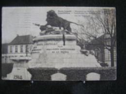 AP 4 - 290- Belgique  - Bourg-Léopold - Monument Aux Morts Pour La Patrie - Circulé 1937 - Leopoldsburg