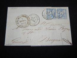 France 1877 Bordeaux Letter__(L-19285) - Francia
