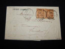 France 1897 Lyon Letter__(L-19299) - Altri