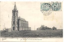 129. DIEPPE . N.D. DE BON-SECOURS . AFFR SUR RECTO LE 12-9-1905 - Dieppe