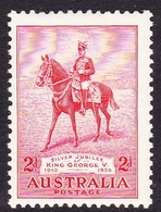 Australia ASC 164 1935 Silver Jubilee, 2d Red, Mint Hinged - 1913-36 George V : Autres Motifs