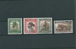 Surcharge Croix-Rouge  COB N° 270/273 XX MNH Côte 22.00€ - Belgisch-Kongo