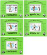 Ref. 365588 * NEW *  - TOGO . 1981. FOOTBALL WORLD CUP. SPAIN-82. COPA DEL MUNDO DE FUTBOL. ESPAÑA-82 - Togo (1960-...)