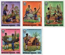 Ref. 38594 * NEW *  - TOGO . 1982. 75th ANNIVERSARY OF THE SCOUTS. 75 ANIVERSARIO DEL ESCULTISMO - Togo (1960-...)
